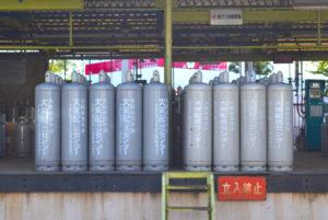 大阪府のLPガス(プロパンガス)会社・大栄産業株式会社のプロパンボンベ充填所