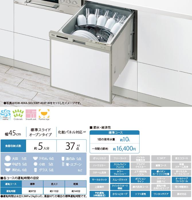 リンナイ食器洗い乾燥機