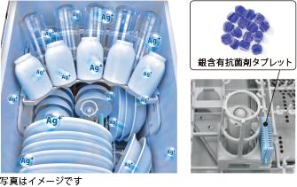 リンナイガス食器洗い乾燥機「銀イオンカートリッジ」