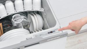 リンナイガス食器洗い乾燥機「オールトップコントロール」&「クイックスタート」機能